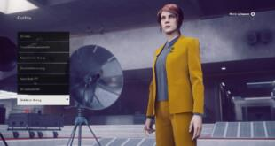 Control Outfits Guide - Goldener Anzug